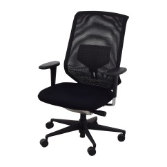Vitra Office Chair Rifton Wooden 90 Off Meda Black Chairs