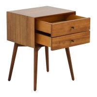 49% OFF - West Elm West Elm Mid-Century Nightstand / Tables