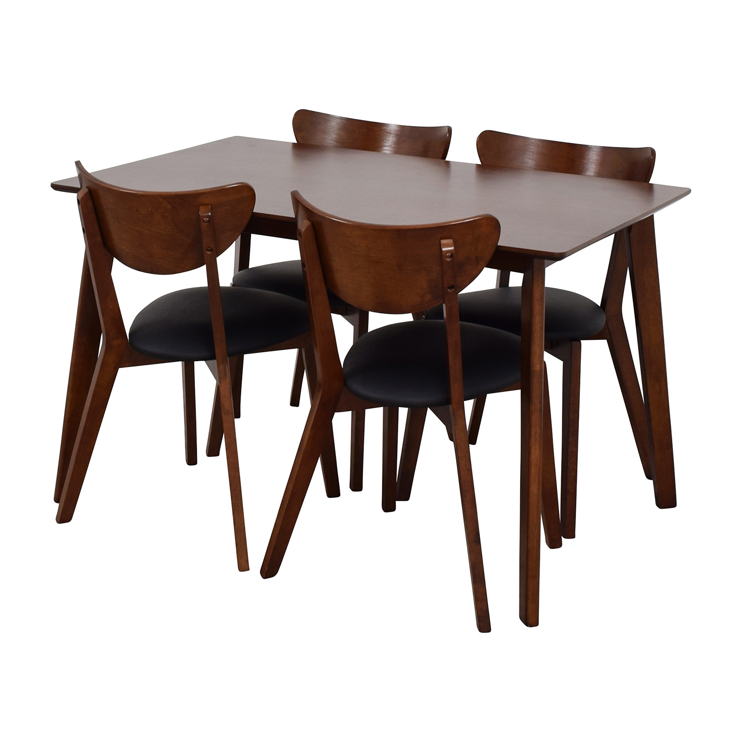 restaurant tables and chairs wholesale chair covers gretna green 35 off interiors brown dining table set with
