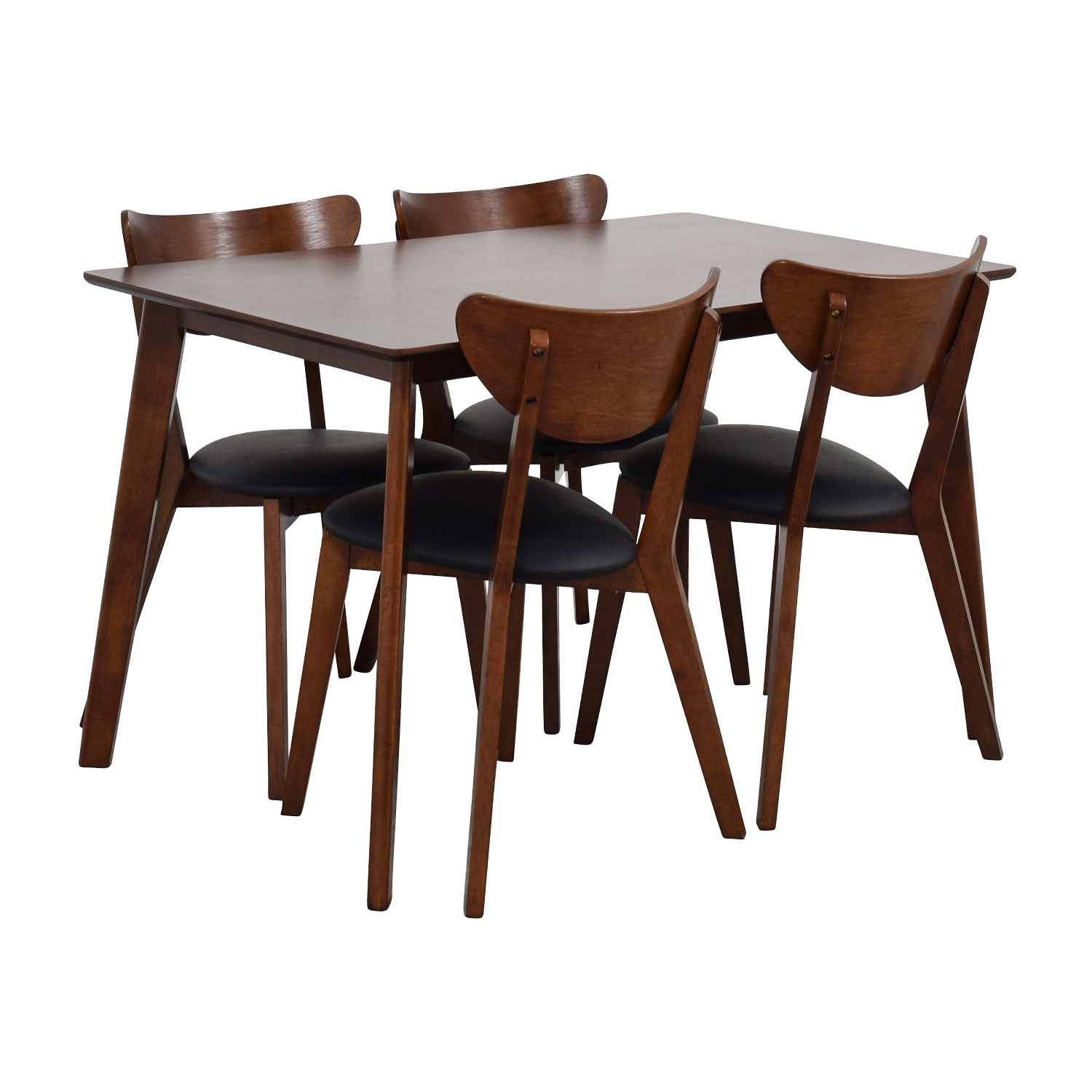 dining chair sets of 4 grey upholstered chairs uk 35 off wholesale interiors brown table set with