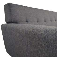 Charcoal Gray Tufted Sofa Best Affordable 37 Off Inmod Grey Lars Sofas