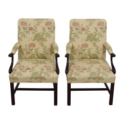 Traditional Occasional Chairs Netting Chair Covers For Wedding 90 Off Upholstered Arm Set Of Two