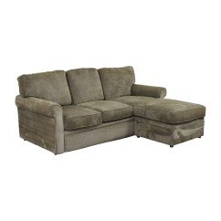 Room And Board Sofas Sectionals Large Corner Sofa Bed With Storage 67 Off Rowe Furniture Green Sectional
