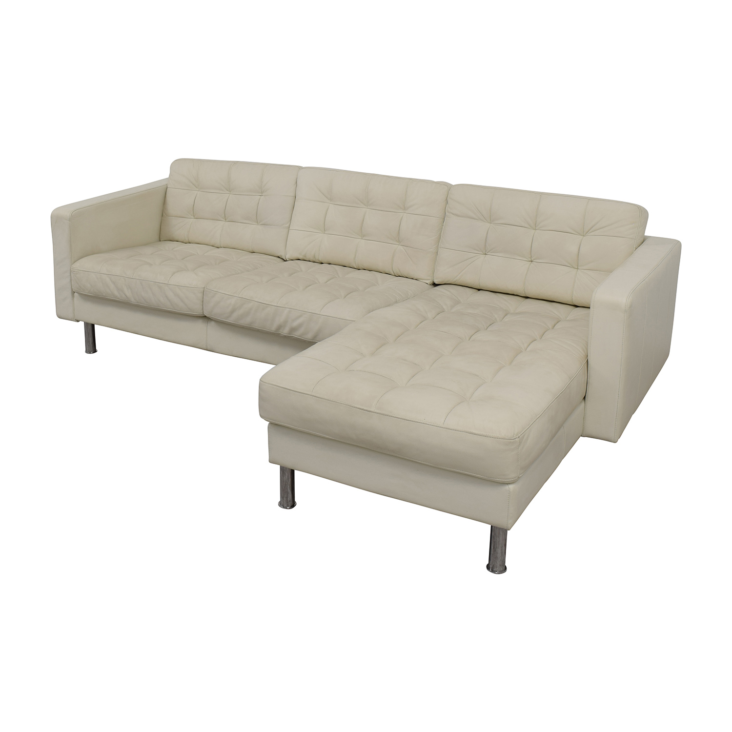 leather sofas ikea sofa bed newcastle 69 off landskrona sectional
