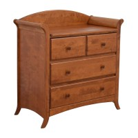 28% OFF - Four-Drawer Changing Table Top Dresser / Storage