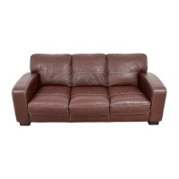 Sofa Bobs Furniture Living Room Atlas Leather Sofa Bobs ...