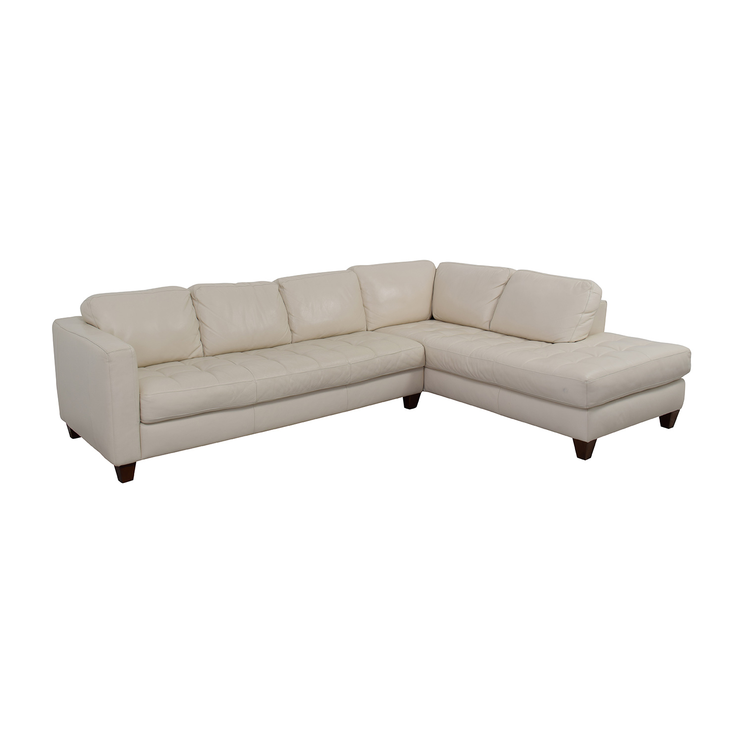 macy chairs recliners wedding chair rentals cheap 72% off - macy's milano white leather two piece sofa / sofas