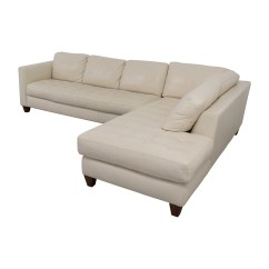 Macy S Furniture Sofa Beds Cama Con Chaise Longue Apertura Italiana 72% Off - Macy's Milano White Leather Two Piece ...