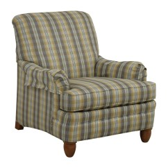 Ethan Allen Recliners Chairs Tell City Pattern 4222 79 Off Plaid Arm Chair