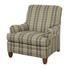 Ethan Allen Recliners Chairs Floral Chair Covers Ebay 79 Off Plaid Arm