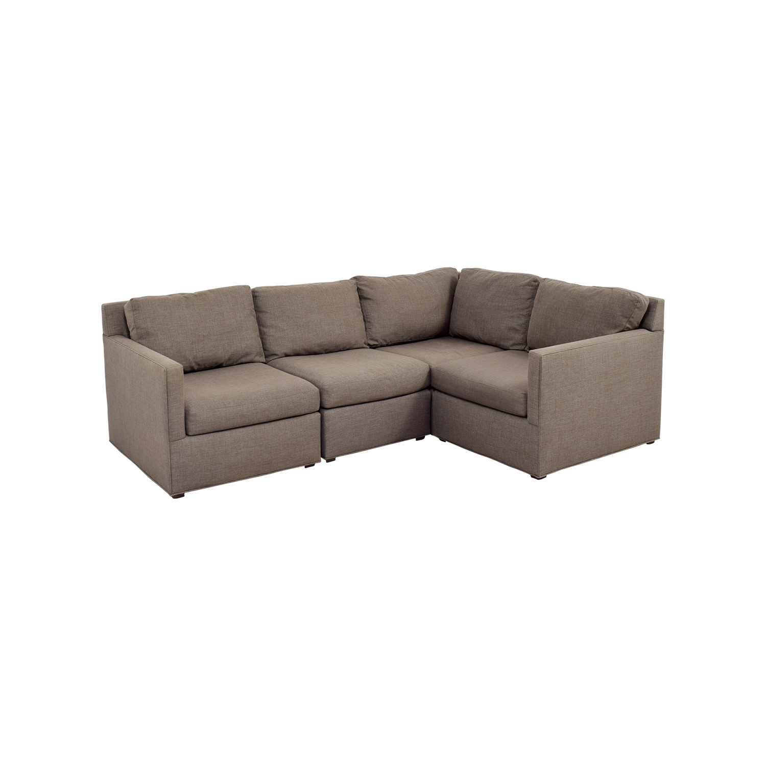 crate and barrel davis sofa leather beds 71 off sectional