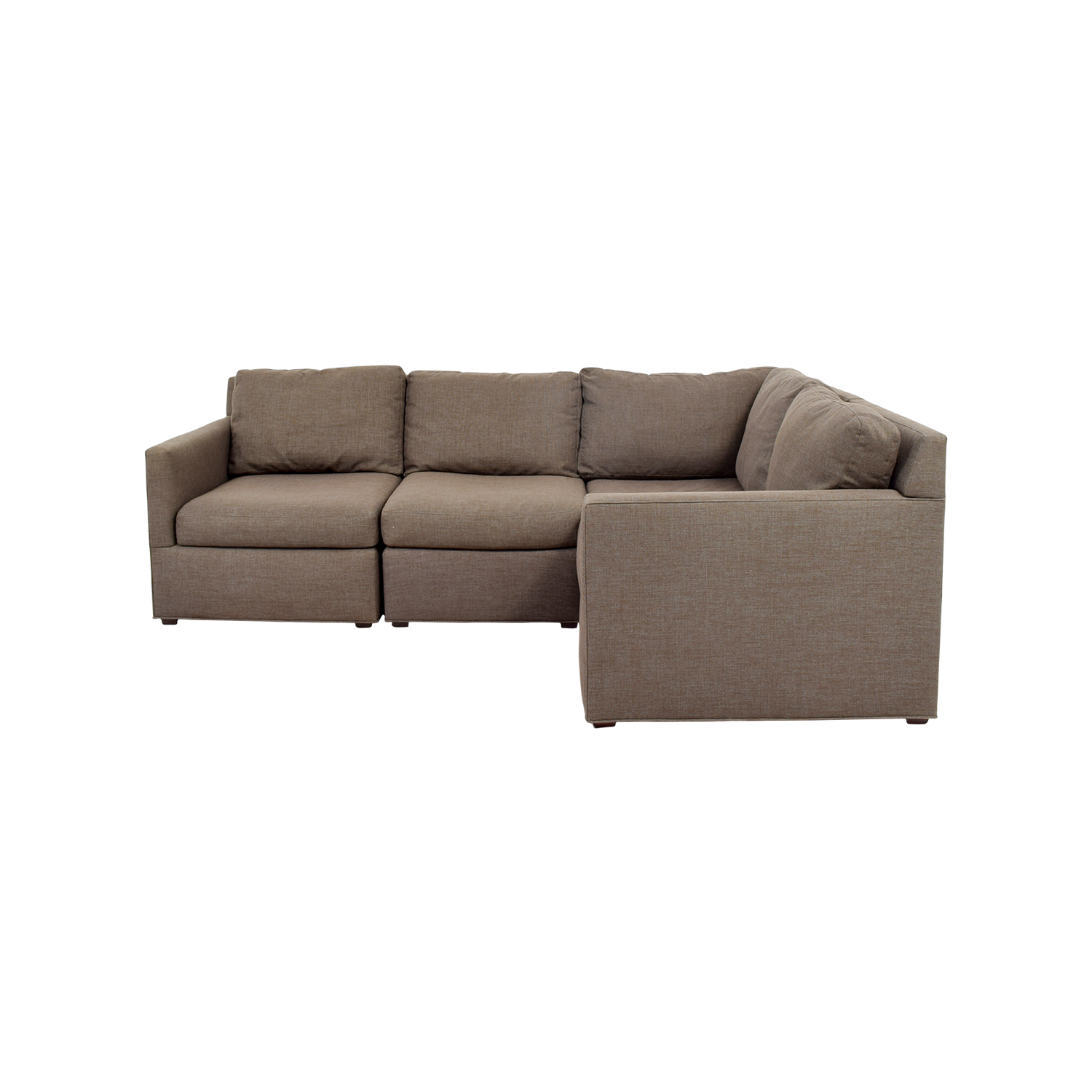 crate and barrel davis sofa leather silver uk sectionals used for sale
