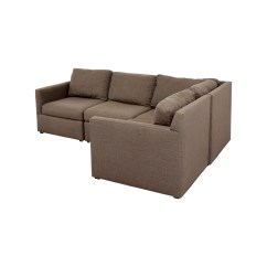 Leather Vs Fabric Sofa India Broyhill Blue Plaid Fresh Sectional Crate And Barrel Sofas