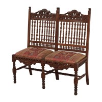 90% OFF - Hand Carved Antique Baroque Chair / Chairs