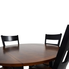 Bobs Furniture Kitchen Sets Square Pedestal Table 45 Off Bob 39s Leaf Folding