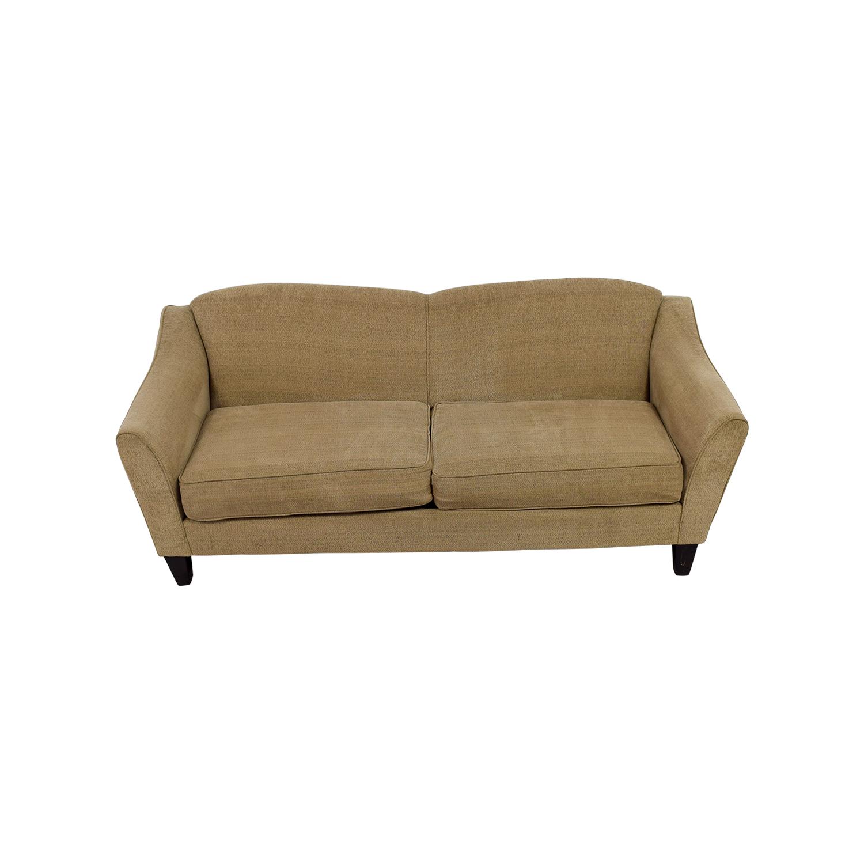 bobs furniture sofa recliner steve silver co silverado 43 off bob 39s tessa beige