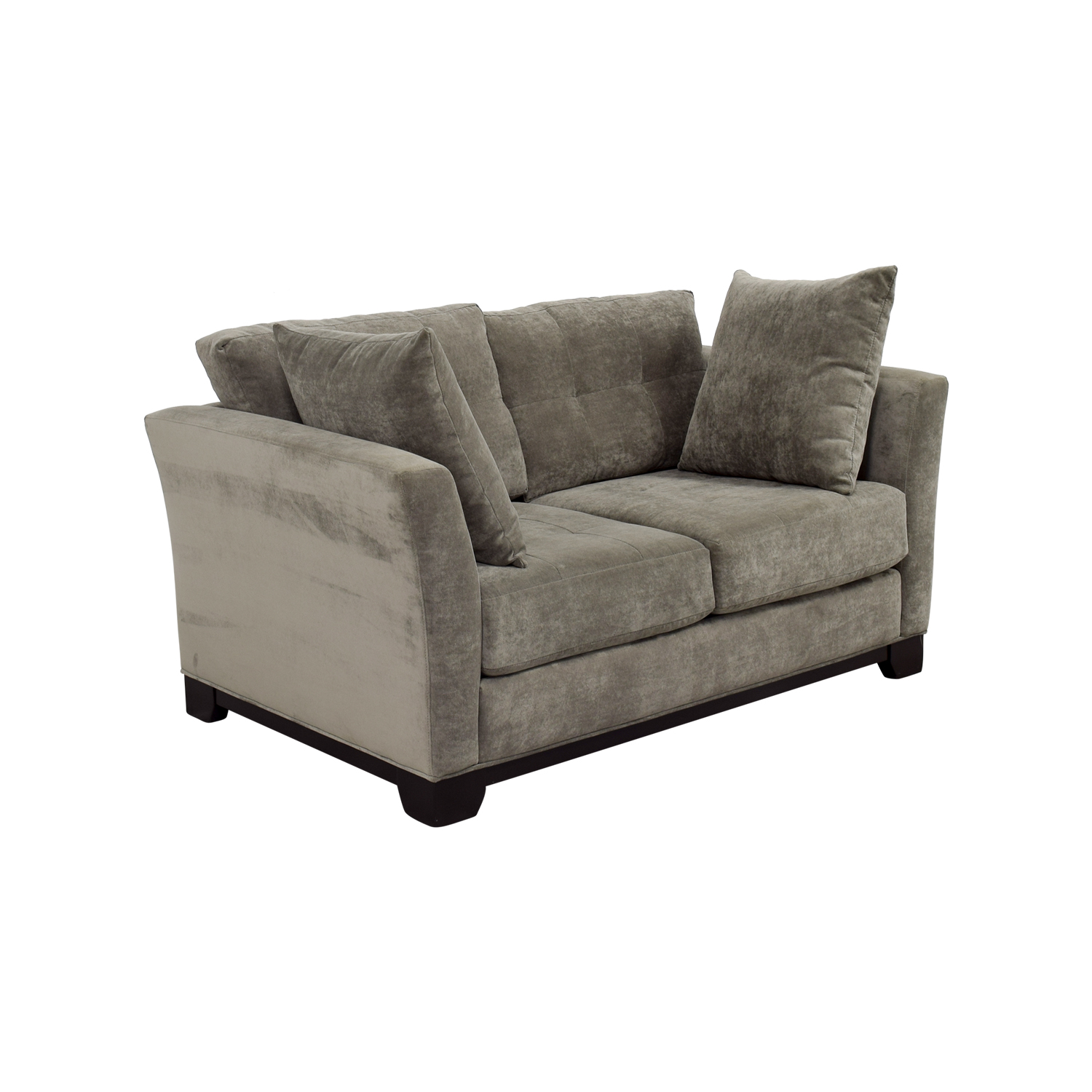 macy s elliot sofa leather corner bed gumtree 26 off 39s microfiber tugfted loveseat