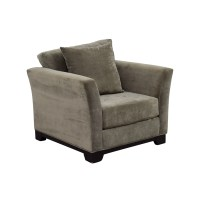 68% OFF - Macy's Macy's Elliot Microfiber Chair / Chairs