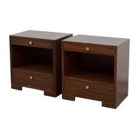 90% OFF - Bungalow 5 Bungalow 5 Frances Night Tables in ...