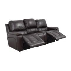 Reclining Sofa Leather Brown Modern Design Sofas 77 Off La Z Boy