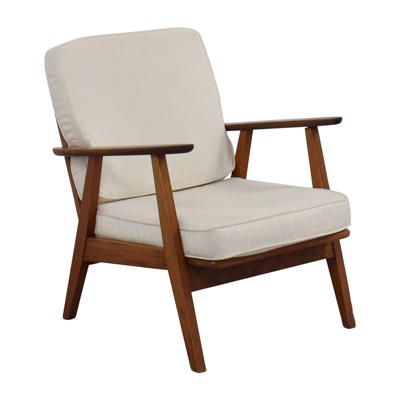 60 OFF  Danish MidCentury Arm Chair  Chairs