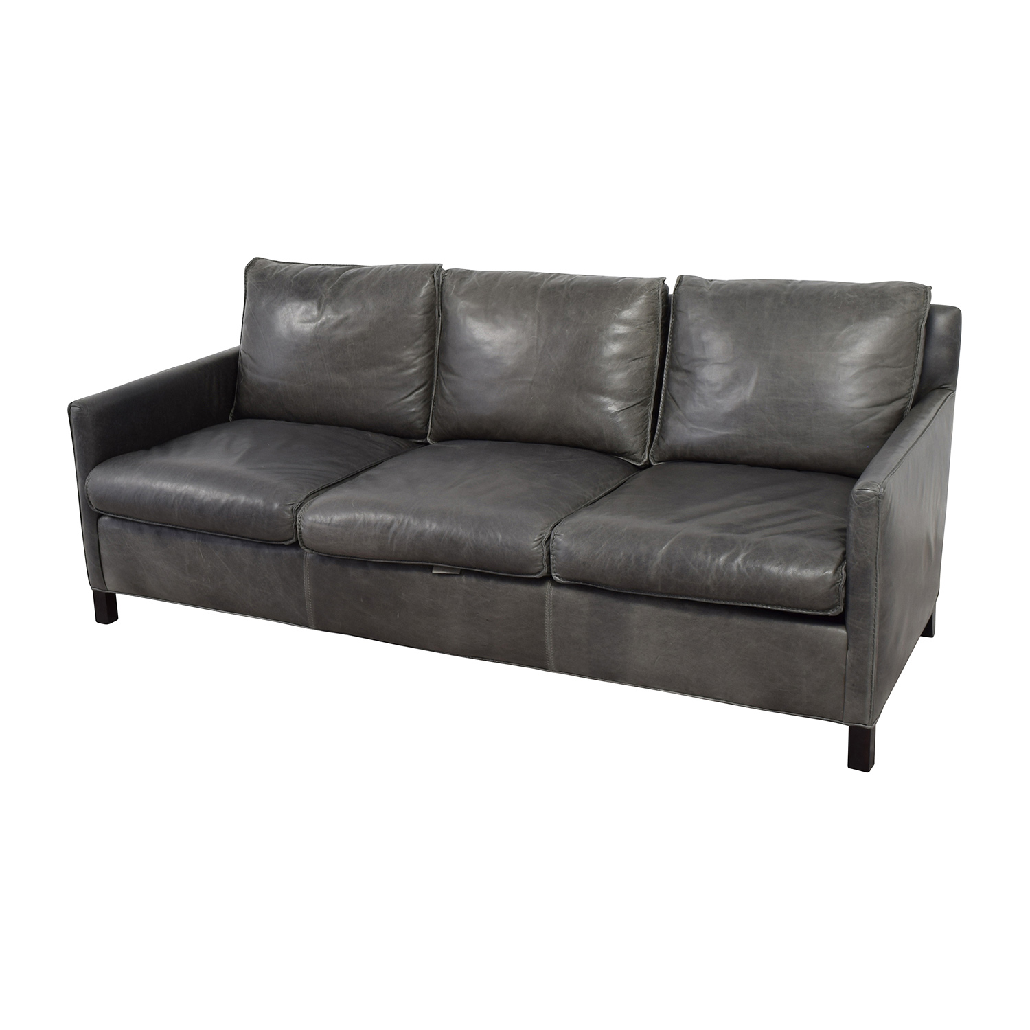 room and board leather sofa bed diy murphy 62 off bram sofas