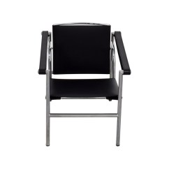 Room And Board Chair Barrel Cushions 78 Off Black Leather