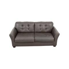 Tufted Gray Sofa La Z Boy Maverick 66 Off Ashley Furniture