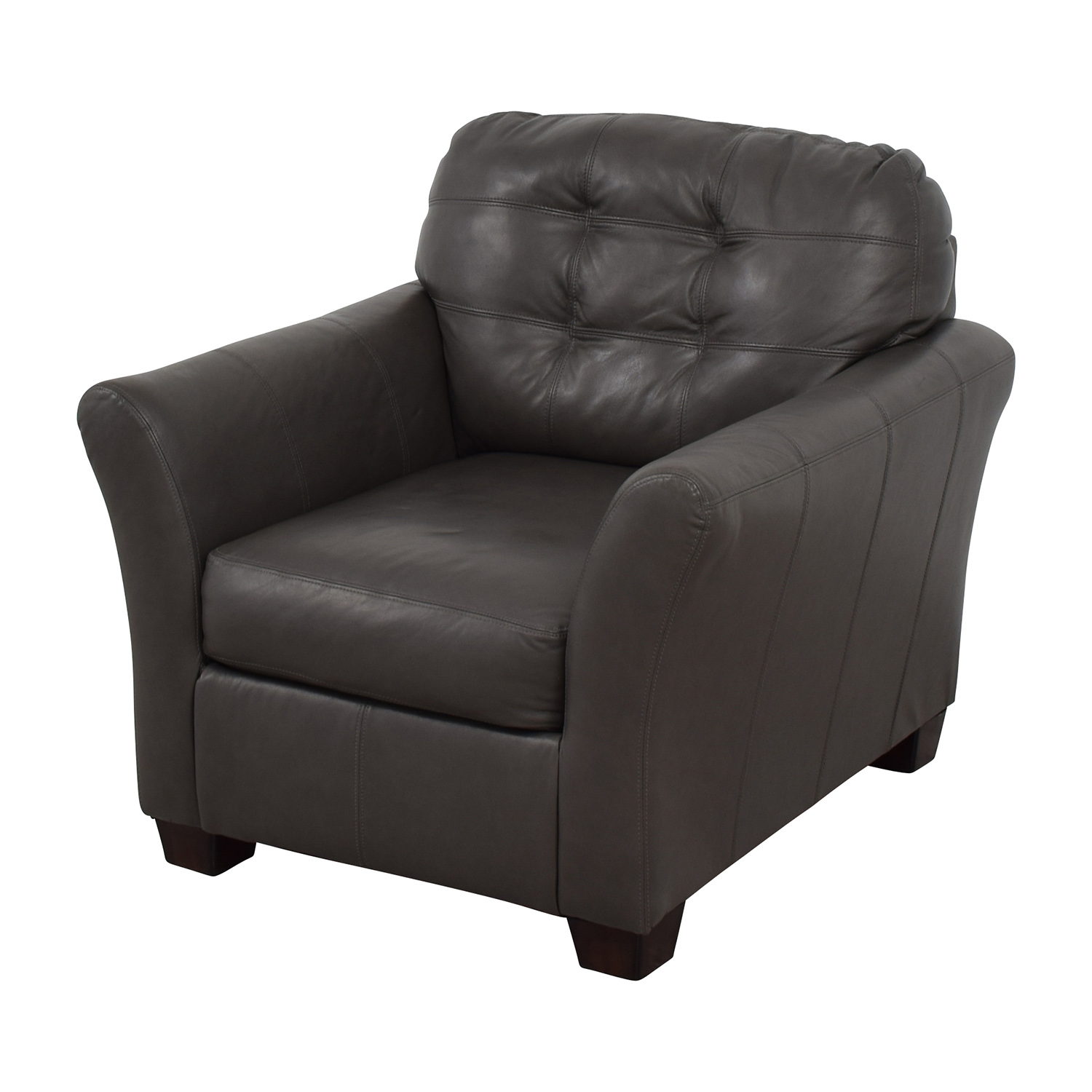 53 OFF  Ashley Furniture Ashley Furniture Gray Leather