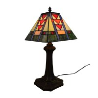 75% OFF - Tiffany Style Stained Glass Table Lamp / Decor