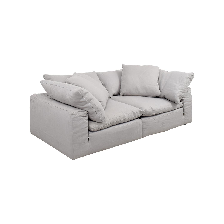 savoy leather sofa restoration hardware 8 ft bean bag jasper walnut  blog avie