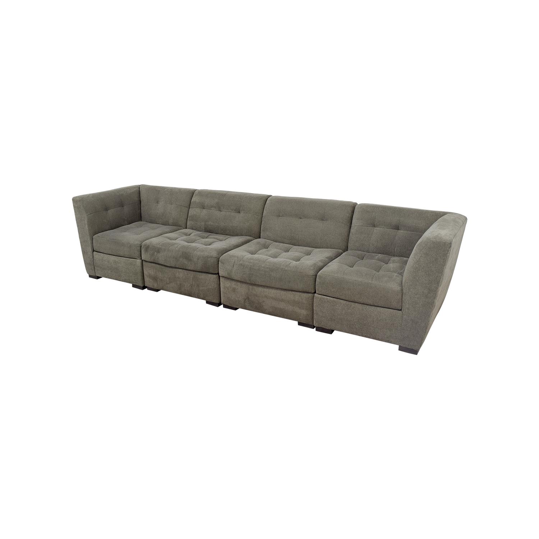 63 OFF Macys Macys Roxanne Modular Sectional Sofa Sofas