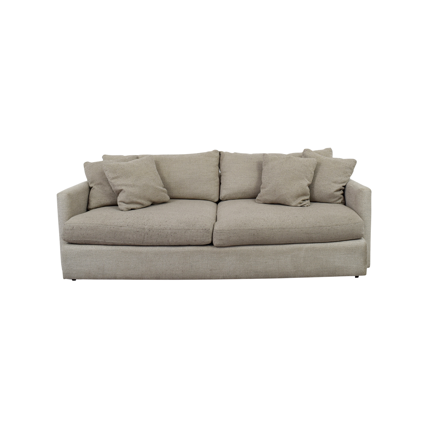 crate and barrel sofa cushion replacement sleeping bed classic sofas used for sale