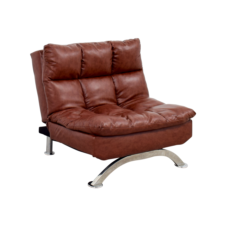 56 OFF  Wayfair Wayfair Love Brown Leather Tufted