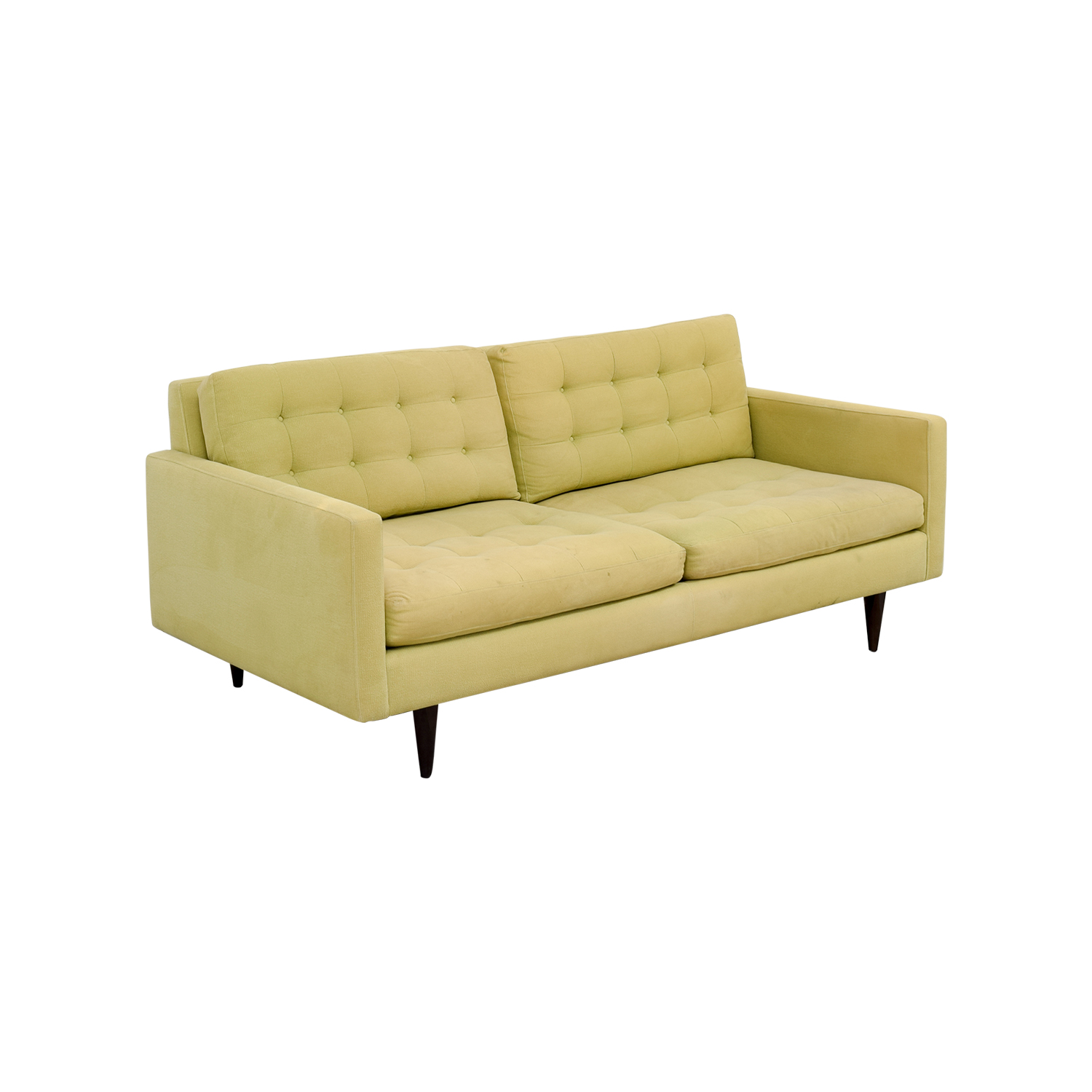 crate and barrel shelter sofa dimensions corner sofas with beds 77 off petrie pale green