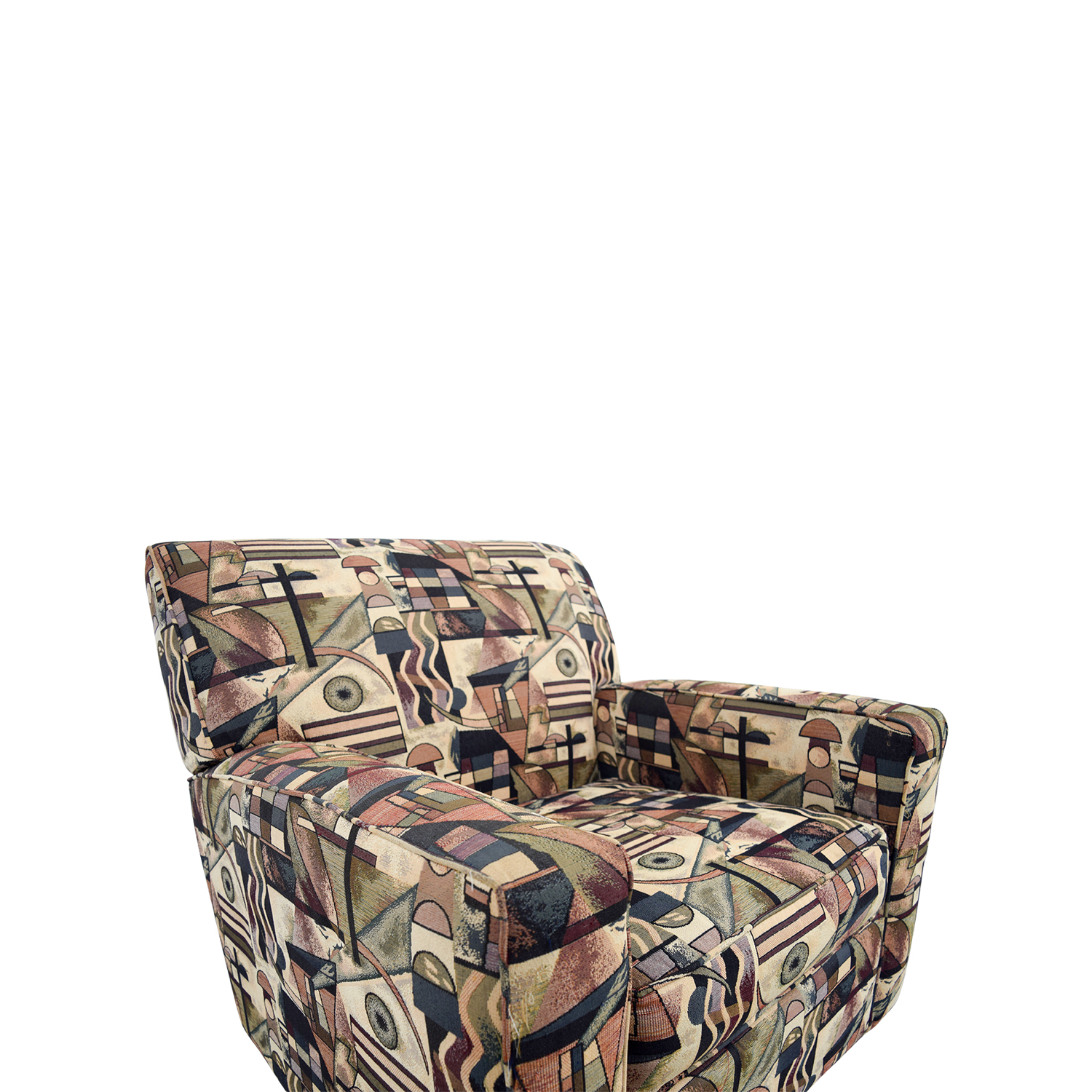 Geometric Accent Chair