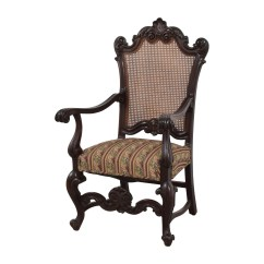 Antique Accent Chair Buy Swing Nz 89 Off With Hole Caning Back Chairs