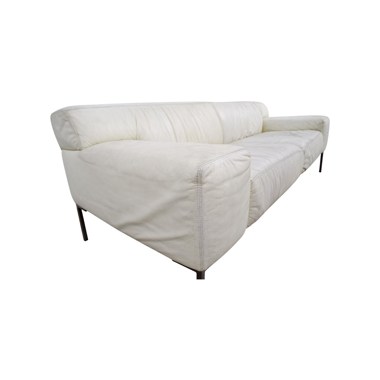 jensen lewis sleeper sofa price single seat bed uk 90 off american leather tuscan white coupon