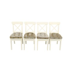 Ikea Ingolf Chair How To Make Wooden Beach Chairs 58 Off With Cushions