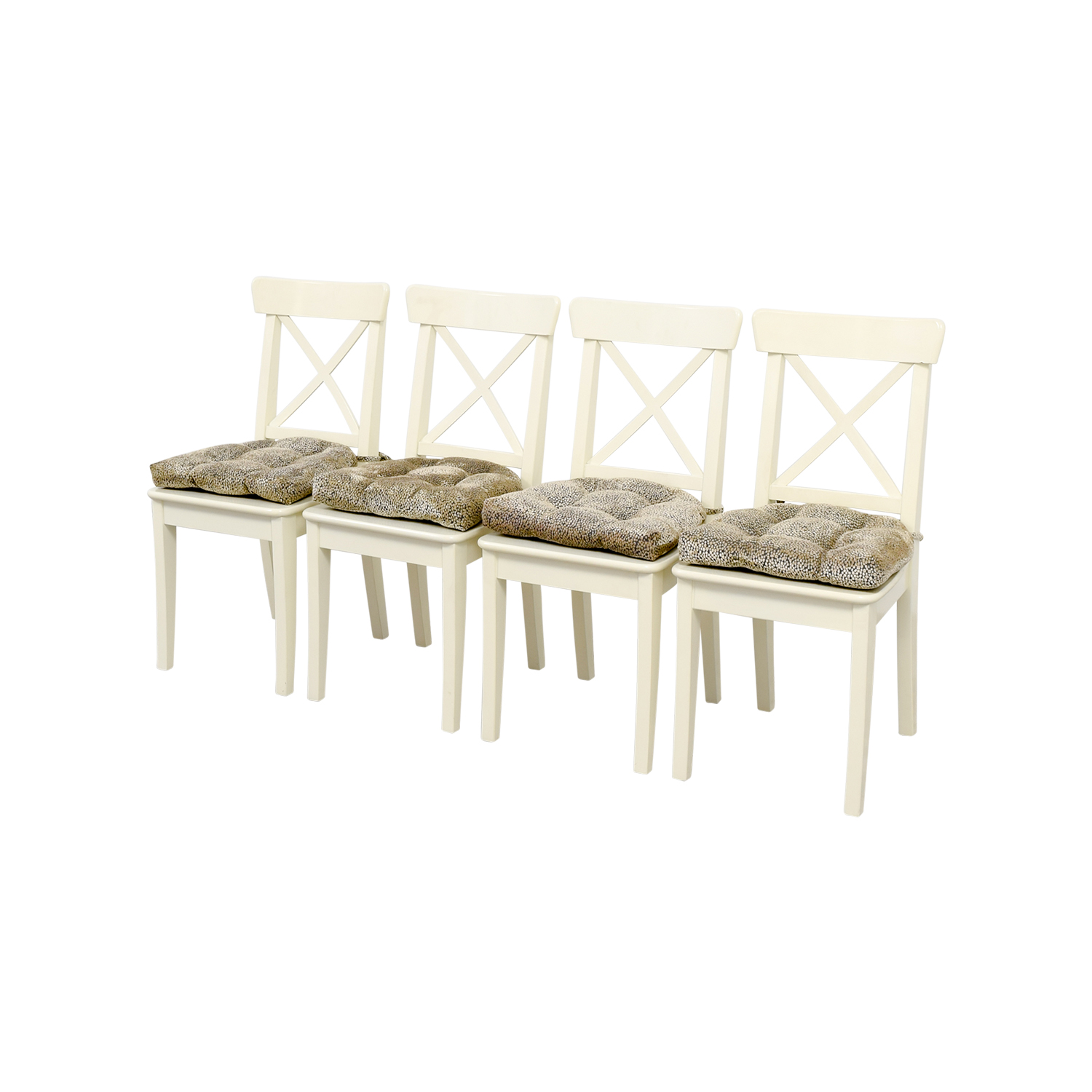 ikea ingolf chair outdoor replacement cushions 58 off with chairs
