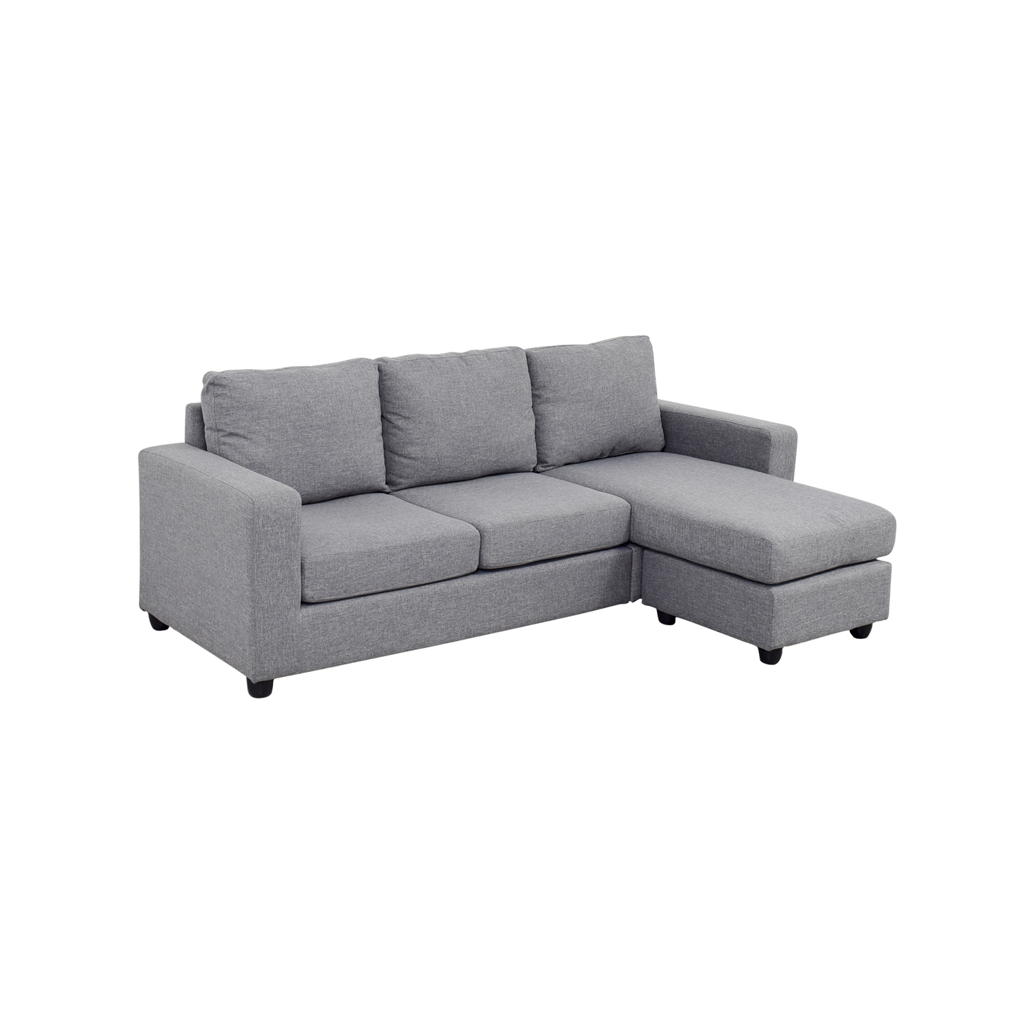 grey large l shaped sofa corner wedge sectional 35 off chaise couch sofas