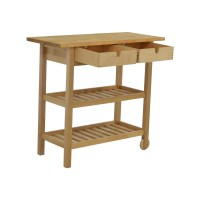 59% OFF - IKEA IKEA Forhoja Kitchen Cart / Tables