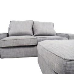 Ikea Gray Brown Sofa Table Affordable Sets 64 Off Kivik And Ottoman Sofas