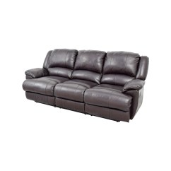 Jennifer Convertibles Leather Reclining Sofa Craft Furniture 48 Off