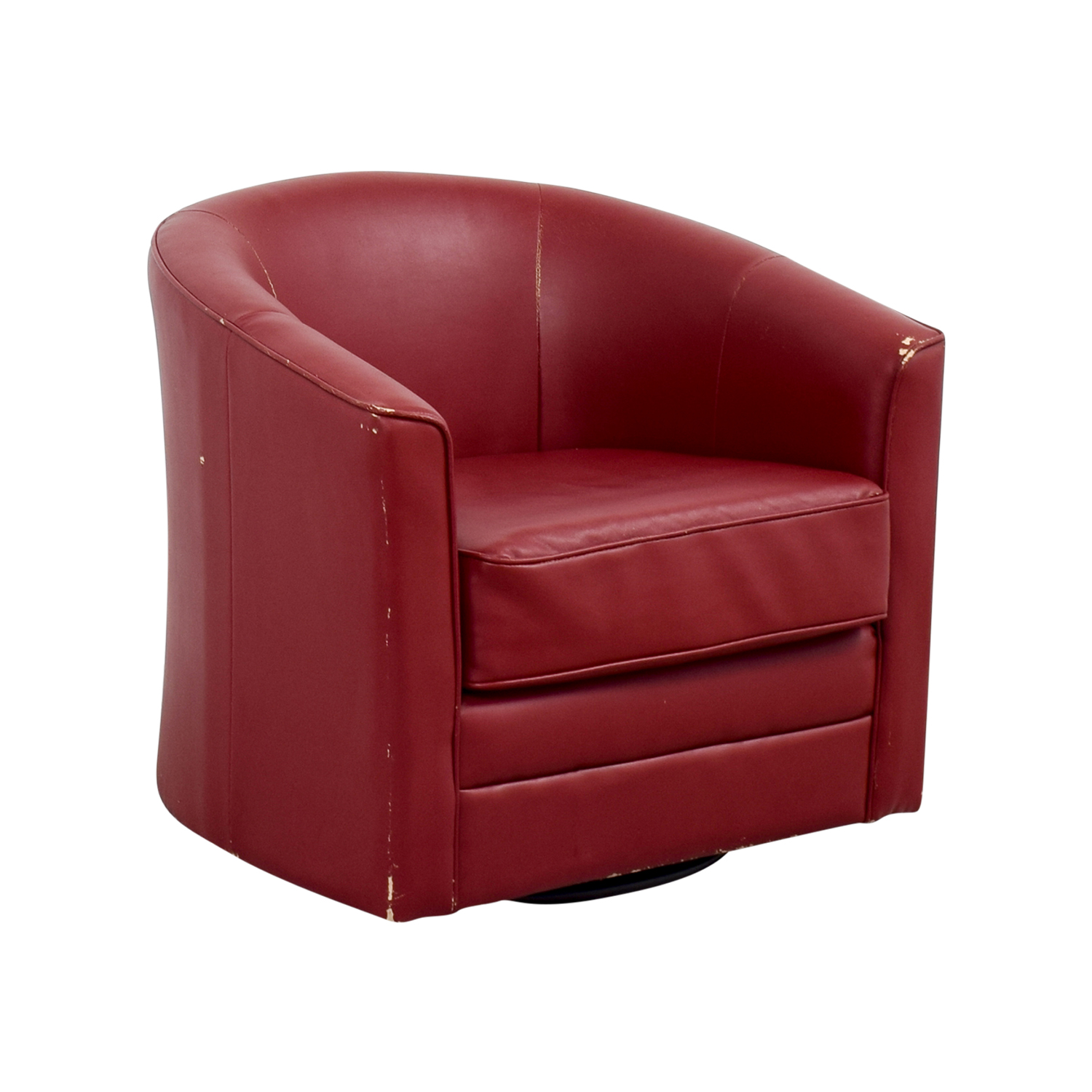 90 OFF  Bobs Furniture Bobs Furniture Red Leather