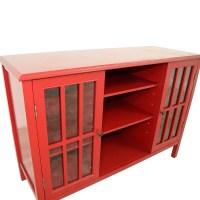 Windham Two Door Cabinet With Shelves - Cabinet Designs