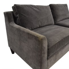Pottery Barn Seabury Sleeper Sofa Best Covers For Pets 80 Off Beverly Grey Sofas