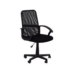 Used Computer Chairs Dark Brown Leather Dining 51 Off Black Mesh Chair