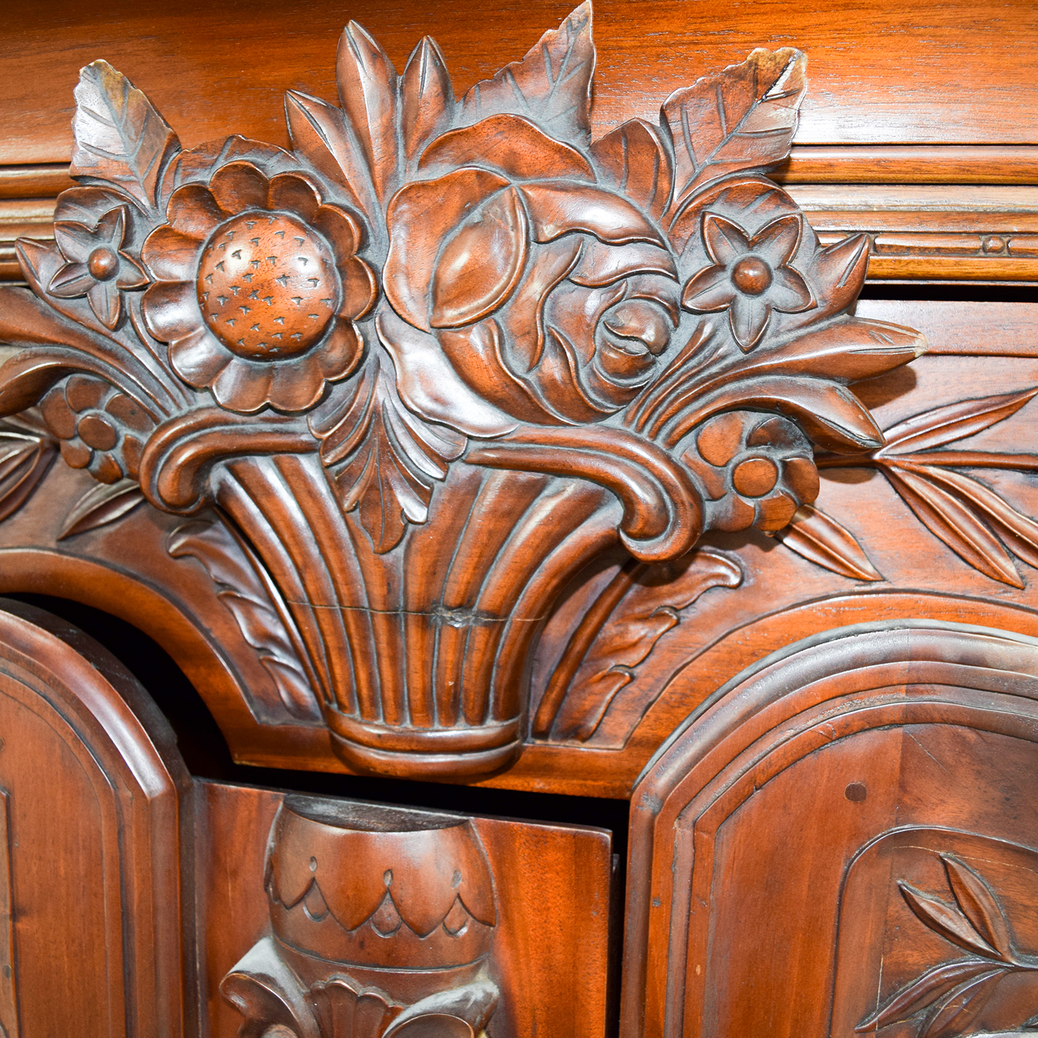 wooden hand chair bali covers dark grey 74 off carved wood armoire storage