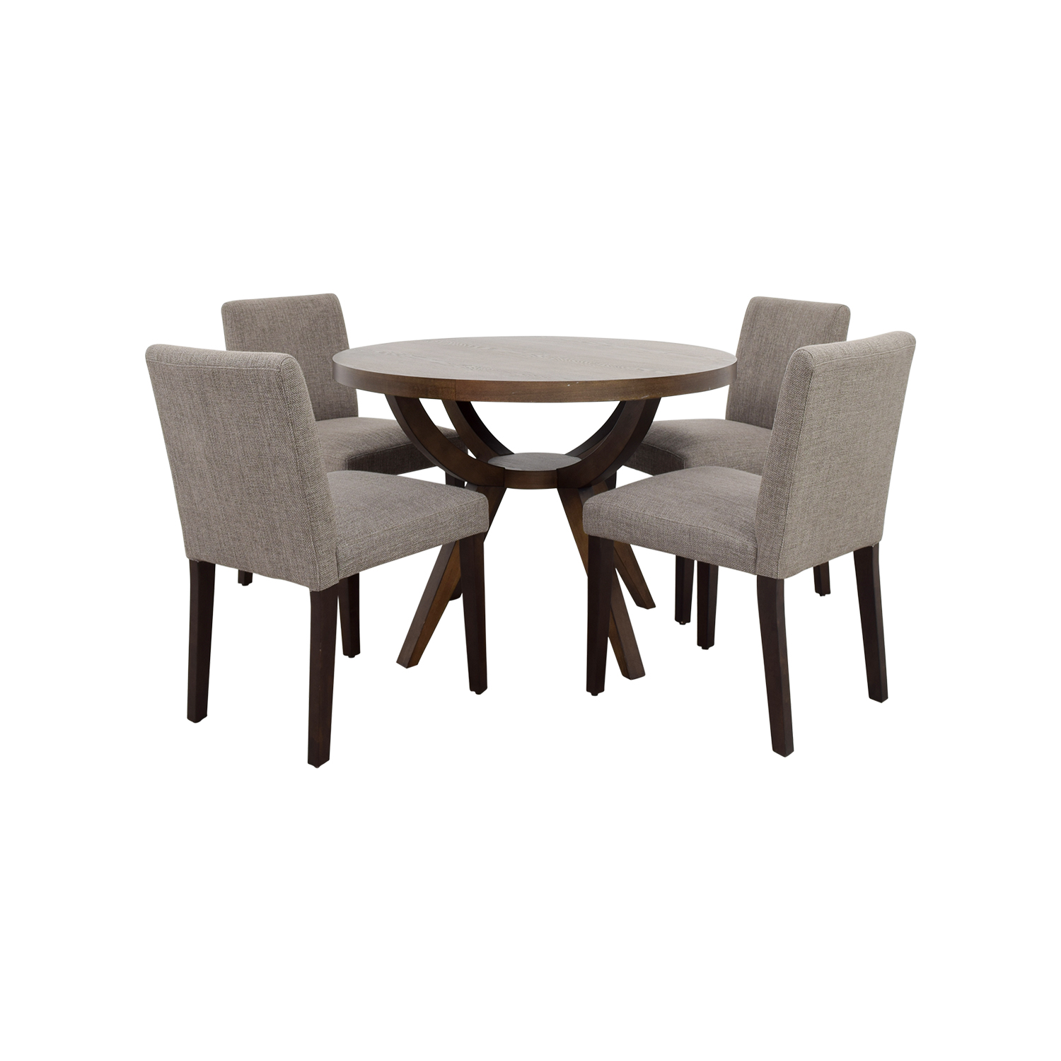pedestal table and chairs design chair usa dining sets used for sale
